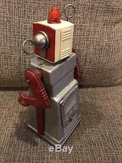 Vintage KO Japan Chief Robot Space Tin Toy Robotman B/O