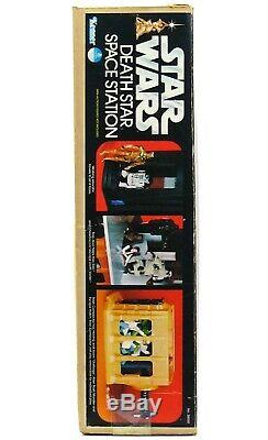 Vintage Kenner Star Wars Death Star Space Station Playset 100% Complete withLP Box