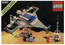 Vintage LEGO 1593 Super Model Classic Space Set From 1983