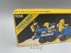 Vintage LEGO Classic Space Mobile Command Trailer 1558 RARE Sealed New in Box