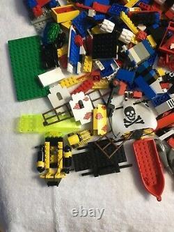 Vintage LEGO Lot Pirates, M-Tron, Space, Town, Etc. Lots Of Figures