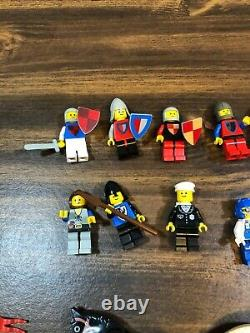 Vintage LEGO Minifigs Castle Police Officer Pilot & Some Modern Minifigs See Pic