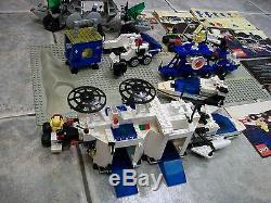 Vintage LEGO Space LOT 6952 Solar Power Transporter 6783 6927 6883 1478 6849 fig