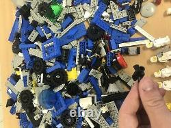 Vintage LEGO Space Set LOT + 19 Minifigs Space Man Jetpacks 3.8 lbs Old Bricks