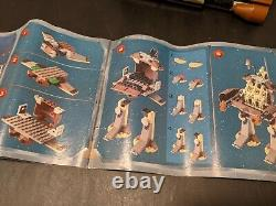Vintage LEGO Star Wars 7184 Trade Federation MTT 90% Complete Manual Minifigs
