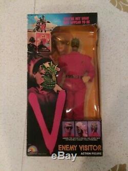 Vintage LJN 1984 V The Enemy Visitor Action Figure