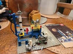Vintage Lego 483 Alpha 1 Rocket Base 1979 Complete No Box