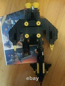 Vintage Lego 6954 BLACKTRON RENEGADE Space Legoland printed instructions, no box