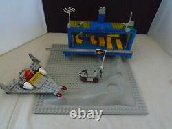 Vintage Lego Beta 1 Command Base Set, Police Space Vehicle, Moon Crater Base, Et