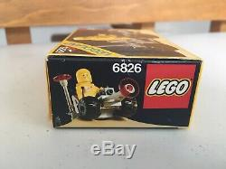 Vintage Lego Classic Space Crater Crawler 6826 New in Sealed Box NISB Rare Set