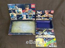Vintage Lego Classic Space Joblot 928 Galaxy Explorer & 6929 Starfleet Voyager