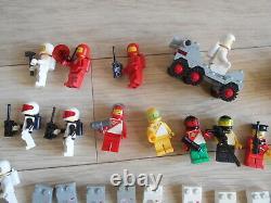 Vintage Lego Space, Mtron, Blacktron, Space Police Minifigures Bundle 6811, Bricks