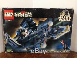 Vintage Lego Star Wars 7150 TIE Fighter & Y-Wing Fully Boxed & Complete 1999