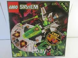 Vintage Lego System (6915) SPACE WARP WING FIGHTER 100% Boxed with Instructions