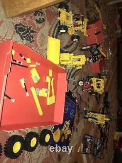 Vintage Lego Technic large job lot 8853 8855 8860 8210 8250 Car Plane Submarine