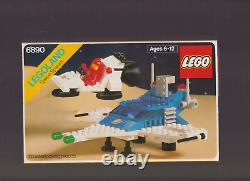 Vintage MINT Lego Classic Space 6890 Cosmic Cruiser 100% w Instructions & Box