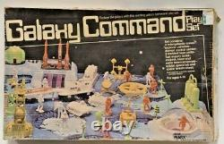 Vintage Marx 4206 Galaxy Command Play Set with Original Box Space Astronaut Toy