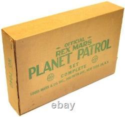 Vintage Marx Rex Mars Space Planet Patrol Tom Corbett Academy Playset +Box EX-NM