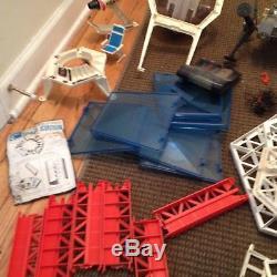 Vintage Mattel Major Matt Mason Space Lot Crawler Uni Tred & Space Bubble Works