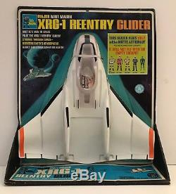 Vintage Mattel Major Matt Mason XRG-1 Reentry Glider New on Card RARE VERY GOOD