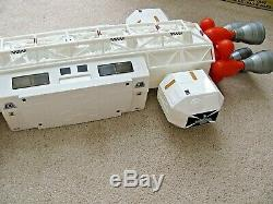Vintage Mattel SPACE 1999 EAGLE 1 SPACE SHIP 96% Complete Whiteness Restored