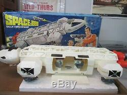 Vintage Mattel SPACE 1999 EAGLE 1 SPACE SHIP and BOX Near Complete