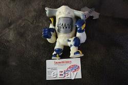 Vintage Mattel Street Sharks Steeljaw Jab Action Figure Space Force 1996