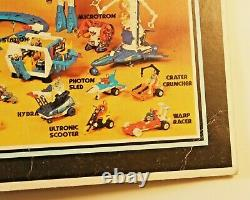Vintage Mego Micronauts Gold Space Glider / Sealed & Complete on unpunched Card