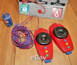 Vintage Merit Dan Dare Space Control Radio Station 1950s Boxed Rare Toy Set B218