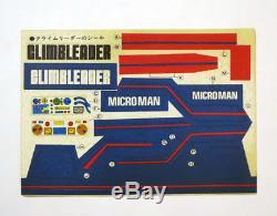 Vintage Microman Climb Leader Police Keeper Takara Japan 1970s Micronauts MIB