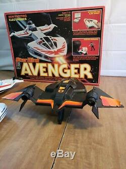 Vintage Milton Bradley Star Bird Avenger With Box and Intruder