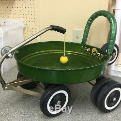 Vintage Moon Wagon Toy Cart space age Big Boy MF Burbank California Rare 1969
