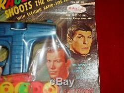 Vintage NBC Star Trek Tracer Disc Gun Ray-Line 1966 Unopened RAPID FIRE