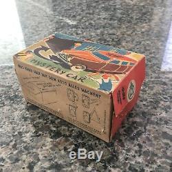 Vintage Philip Niedermeier Mystery Car Nr. 900 In Original Box! Clockwork/tin