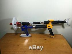 Vintage Power Rangers in Space Quadro Blaster Combining Weapons Bandai 1997