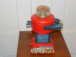 Vintage Remco Lost In Space Battery Operated Robot 1966