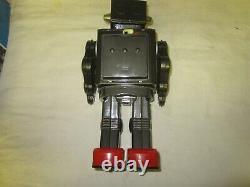 Vintage Rotate-o-Matic Super Astronaut Robot Space Tin Toy Horikawa SH Japan