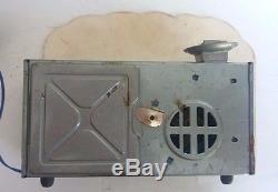 Vintage S. H. Horikawa Cragstan Atlas ICBM Space Missile battery tin toy, Japan