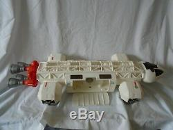 Vintage SPACE 1999 EAGLE MATTEL SPACESHIP MOON BASE Ship 1976 Gerry Anderson