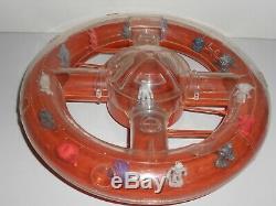 Vintage SPACESHIP Premium Dunkin Toy Figures ICE CREAM RAJA PORTUGAL 1960's