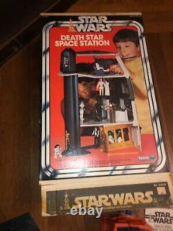 Vintage STAR WARS DEATH STAR SPACE STATION Playset, Complete with Box, Kenner 1978