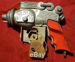 Vintage Space Age Raygun Cap Toy Gun Hubley Atomic Disintegrator 1950's Sci-fi