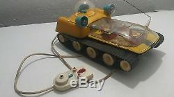 Vintage Space Mobil Toy Moon Rover Straume Batt. Operated Cccp Russia Cccp Ussr