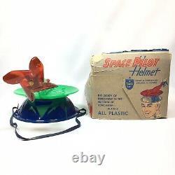 Vintage Space Pilot Helmet Planetary TARCO TOYS 1950s Tarrson Company Chicago