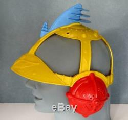 Vintage Space Scout Astro Helmet Renwal 1955 Rare Sci-fi Rocketman Toy