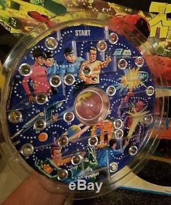 Vintage Star Trek Kirk Spock Marble Maze 1967 MiB Hasbro Super Rare
