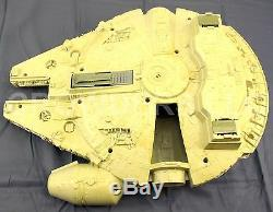 Vintage Star Wars 1979 Millennium Falcon Space Ship Kenner Incomplete Great Base