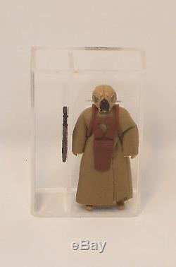Vintage Star Wars PBP 4-LOM No Coo 1981 U. K. G 75 l. F. L Rare Red Chest Armour
