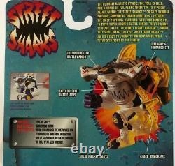 Vintage Street Sharks, Space Force, StreelJaw Jab, # 16562, NOS 1996