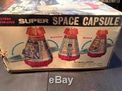 Vintage Super Space Capsule 1960's Horikawa, Japan Working, Boxed Fantastic